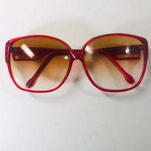 Vintage Lucite 70s/80s Sunglasses Oversized